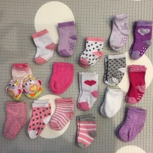 Other - EUC Baby Socks 16 pairs